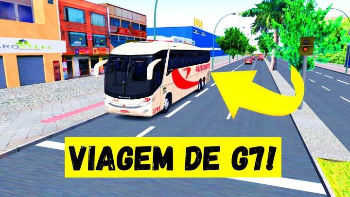 OMSI 2 – MARCOPOLO G7 1200 MERCEDES-BENZ O-500RSD BLUETEC 5 – VIAÇÃO PRESIDENTE – MAPA VALE DO AÇO