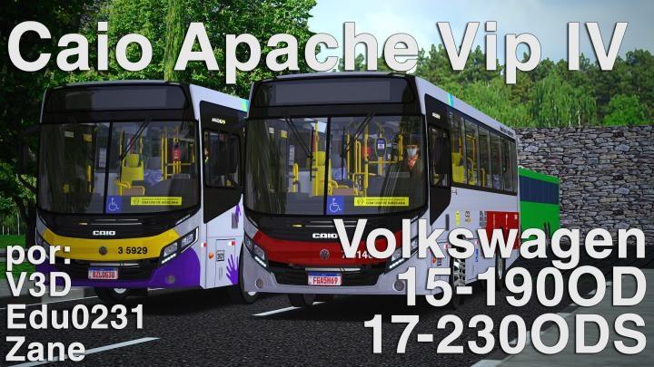 Caio Apache Vip IV VW Padrão SP volume 1