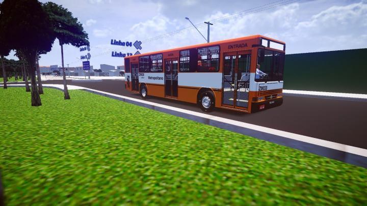 ZM030 Leblon Transporte de Passageiros Urbanus 94 Scania L113 Proton Bus Simulator