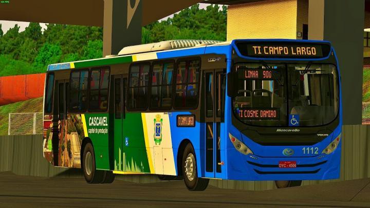 1112 Pioneira Transportes Mascarello GranVia 2014 Volvo B270F OMSI 2