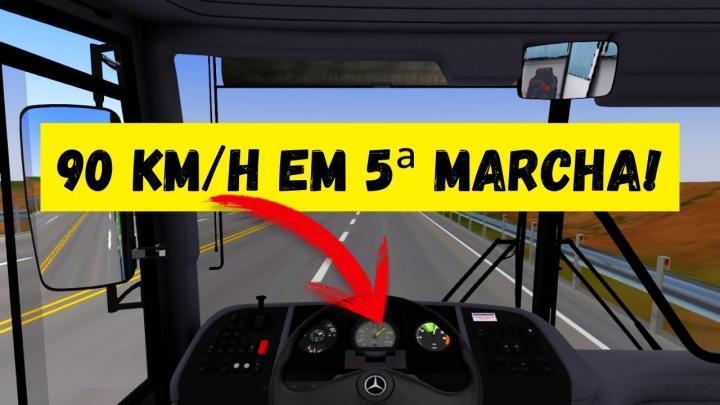 OMSI 2 – GV1150 MBB O-400RSD PEGANDO 90 KM/H DE 5ª MARCHA!