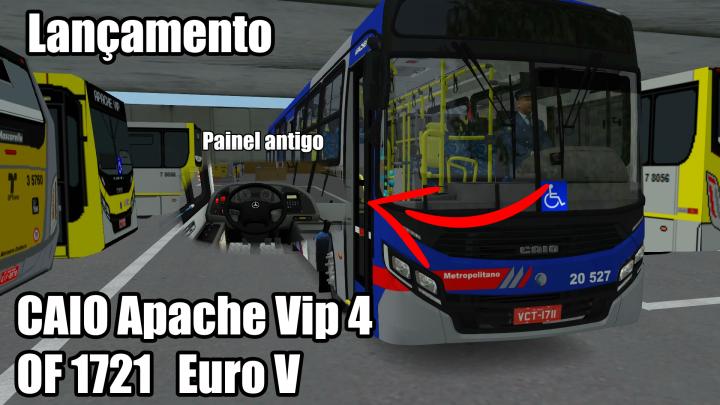 Caio Apache Vip 4 OF 1721 Euro V