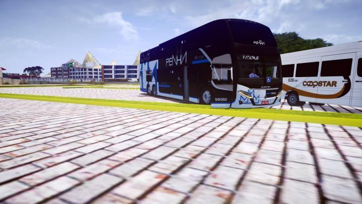 Busscar Vissta Buss DD MB O-500RSD 6×2 BlueTec 5 (fase2) – Proton Bus Simulator/Road