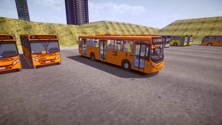 GI068 Viação Cidade Sorriso|CAIO Apache Vip V Mercedes-Benz OF-1724L BlueTec 5[Proton Bus Simulator]