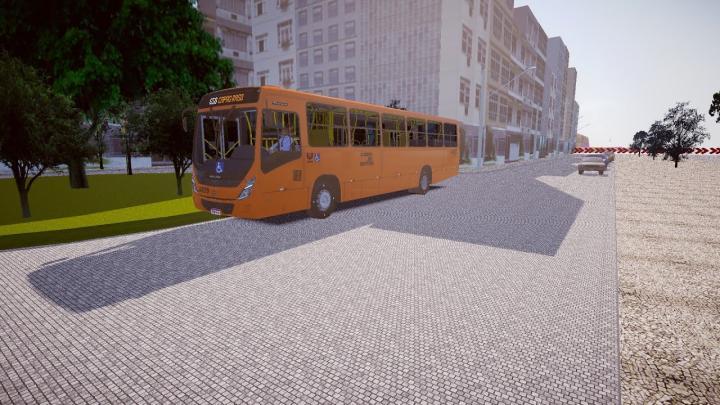 JA039 Expresso Azul | Marcopolo Torino 2014 Mercedes-Benz OF-1721L BlueTec 5 | Proton Bus Simulator