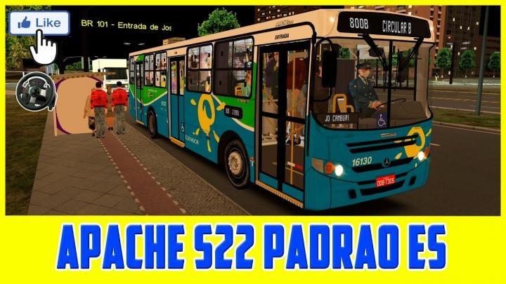 LANÇAMENTO CAIO APACHE S22 PADRÃO TRANSCOL/ES