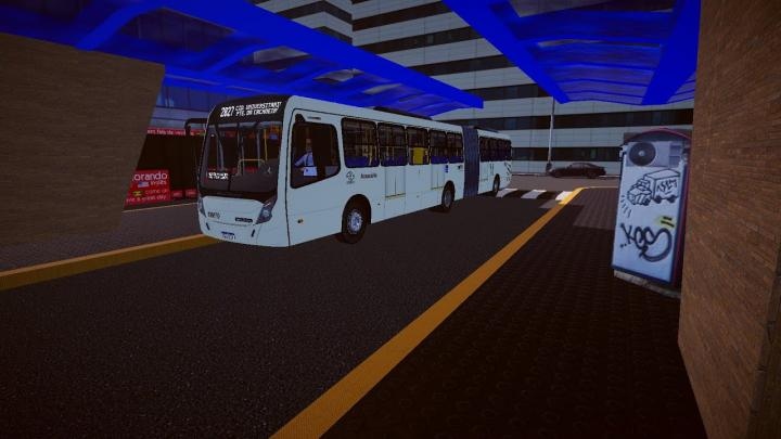 Neobus Mega Plus Articulado MB O-500MA BlueTec 5 padrão Porto Alegre (fase2) – Proton Bus Simulator