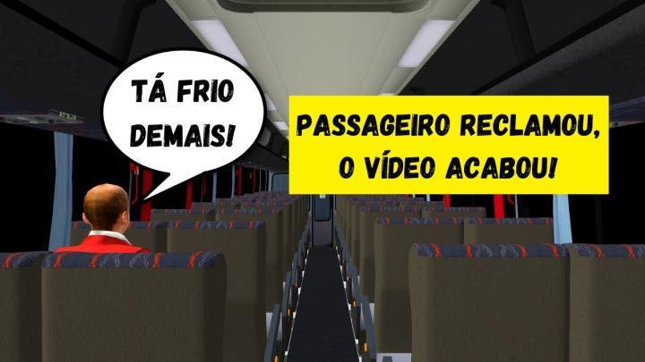 OMSI 2 – DESAFIO DO INSCRITO – SE OS PASSAGEIROS RECLAMAREM O VÍDEO ACABA!