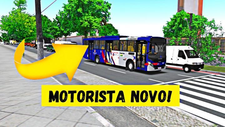 OMSI 2 – MOTORISTA NOVO NA LINHA! – CAIO APACHE VIP IV MBB OF-1724L – MAPA PONTE RASA V3.0 – LINHA 3051-10