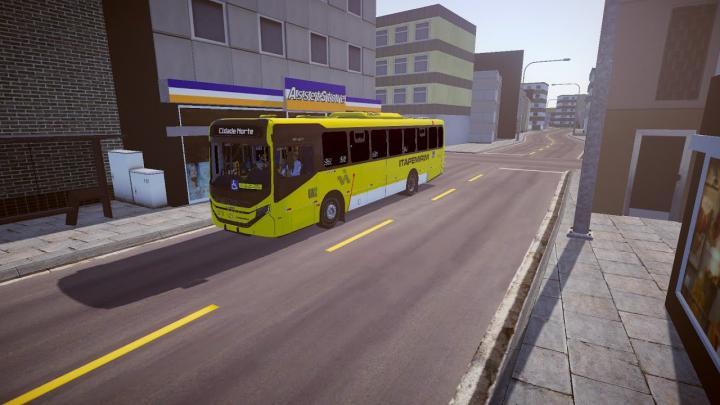 Viação Itapemirim   Caio Apache Vip V Mercedes-Benz OF-1724L BlueTec 5   Proton Bus Simulator
