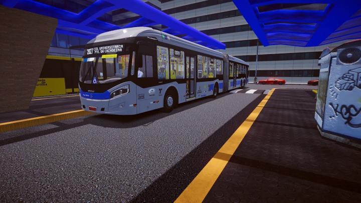 Caio Millennium BRT II Mercedes-Benz O500UDA BlueTec 5 Proton Bus Simulator