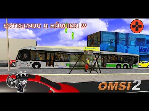 OMSI 2 – ESTREANDO A MÁQUINA EM LINHA MOVIMENTADA !!! MAPA SP ÁREA1 | CAIO MILLENIUM BRT 2 BY ZANE