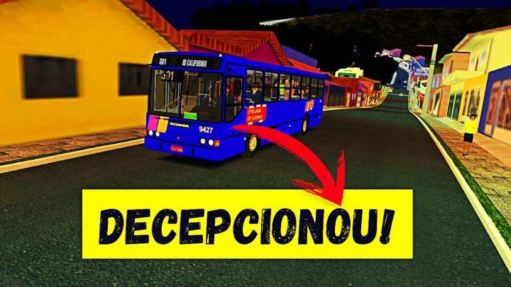 OMSI 2 – SCANIA L-113CL DECEPCIONANDO NA SUBIDA! – MARCOPOLO TORINO GV – MAPA BRIGADEIRO V2
