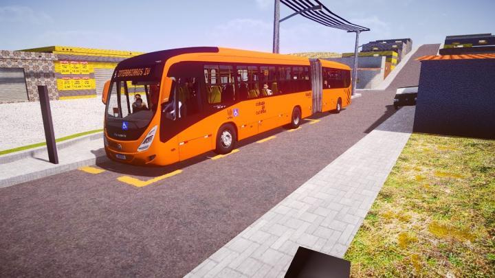 RA602 – Expresso São Gabriel Virtual Marcopolo Viale BRT Mercedes-Benz O-500MA BlueTec 5|Proton Bus