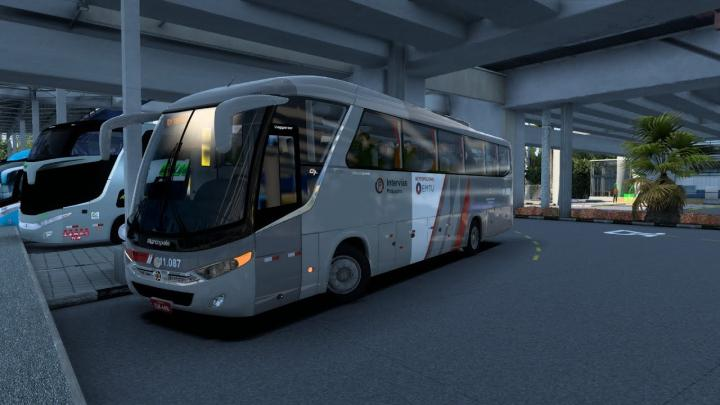 VIAÇÃO PIRAJUÇARA | Marcopolo Viaggio G7 900 Volkswagen 17.230 OD V-Tronic Euro V | ETS2